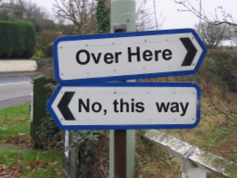 You go this way